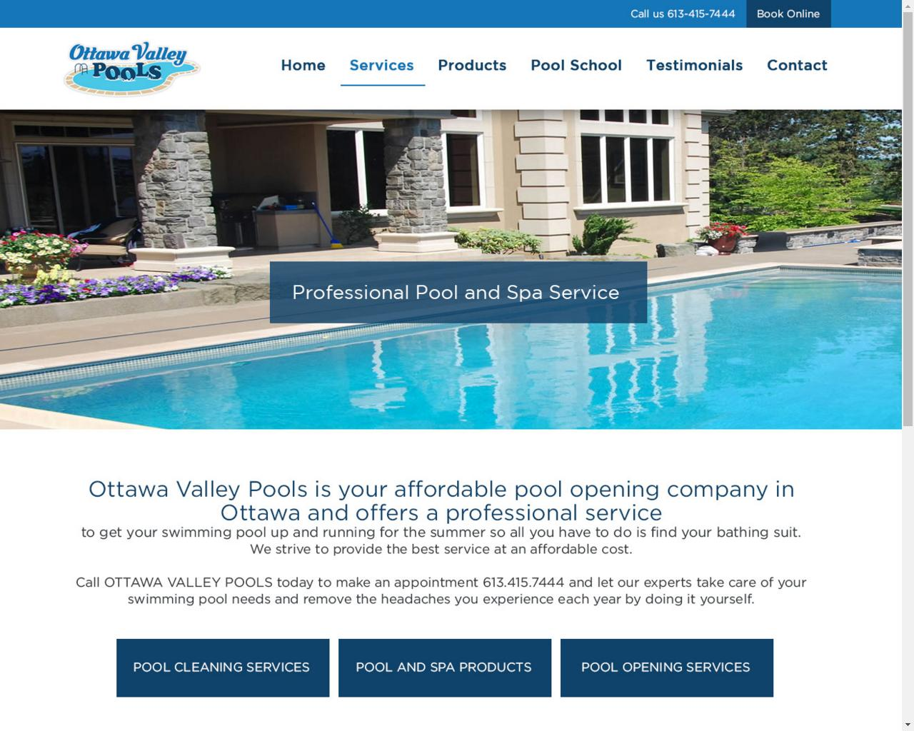 Ottawa valley pools webshark ottawa web design for small business ottawa valley pools is your affordable pool opening company in ottawa and offers a professional service to get your swimming pool up and running for the solutioingenieria Choice Image