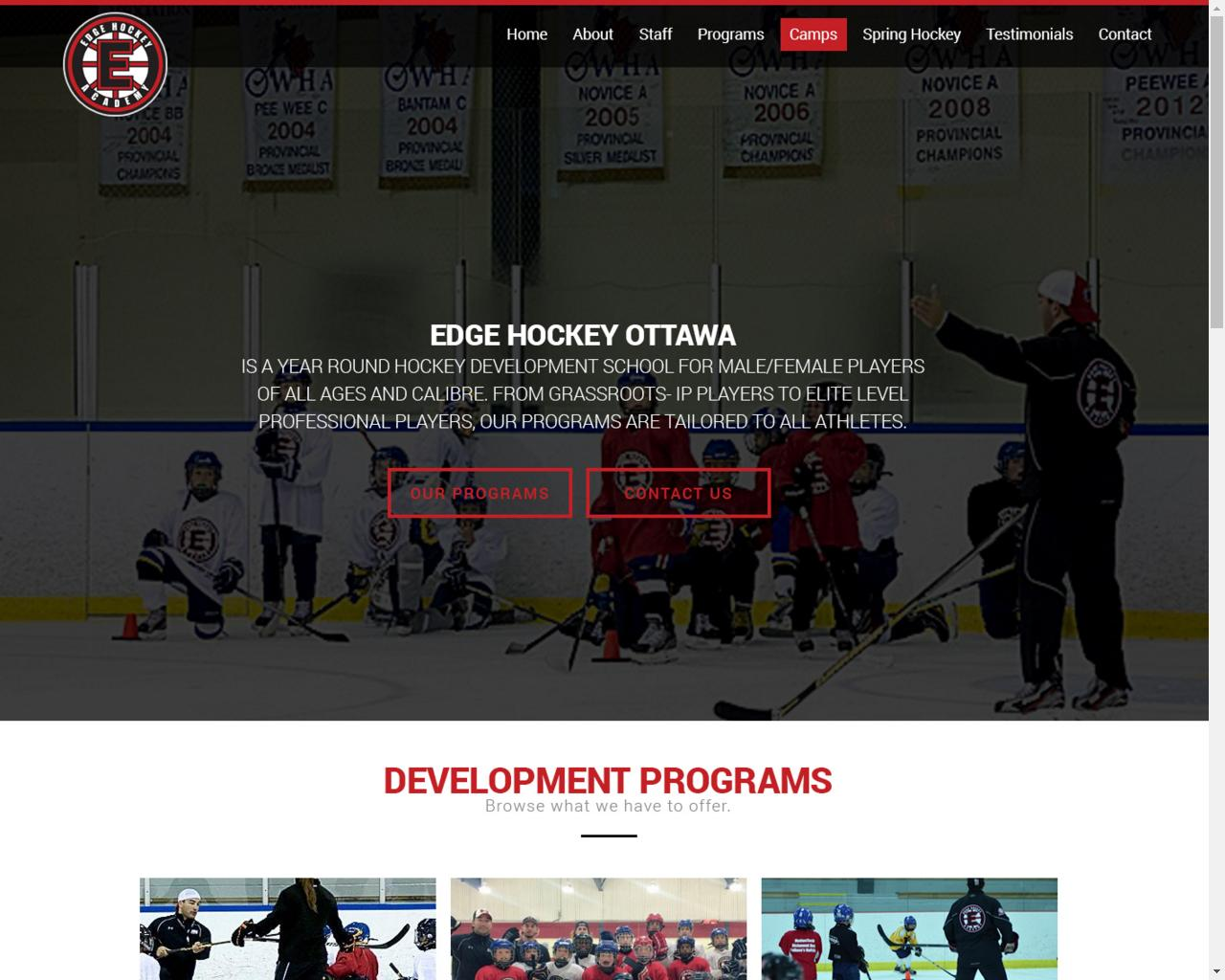 Edge Hockey Ottawa