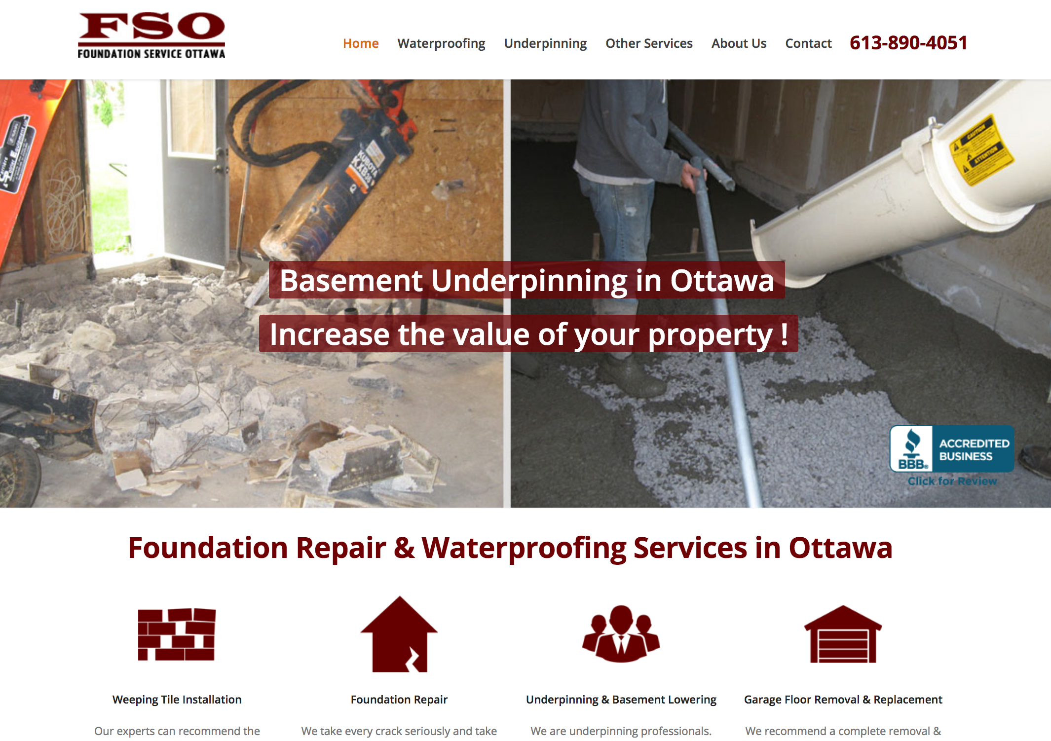 Ottawa Foundation Service