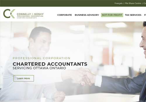 Accounting Web Design