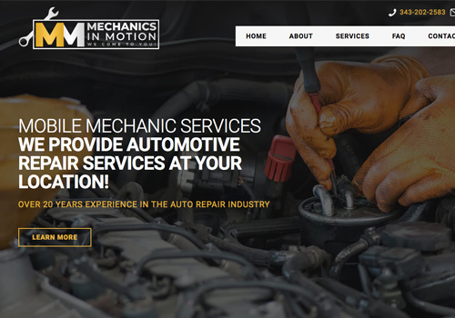 Mechanic Web Design